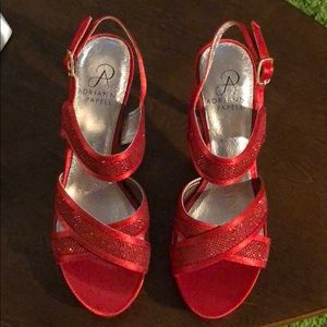 Brand New Adrianna Papell Red Heels
